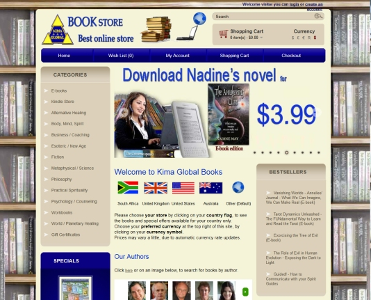 on line bookshop
