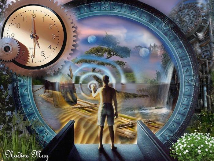 Awakening beyond time