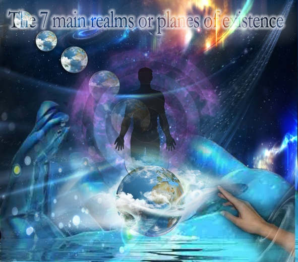 the 7 main realms or planes of existence