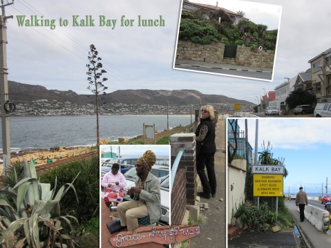 walking to Kalk Bay